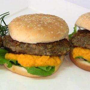 Hamburguesas vegetarianas de lentejas