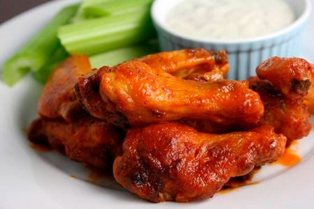 Alitas picantes o Hot Wings, receta original