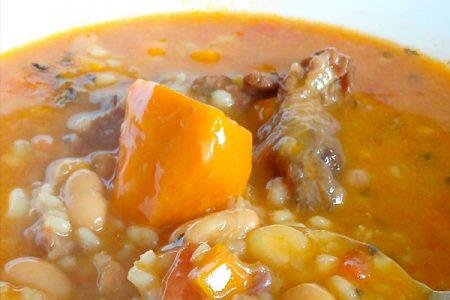 SOPA DE MORON, sopa clásica andina