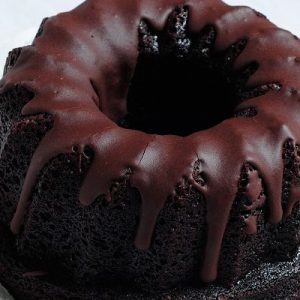 Budín de chocolate