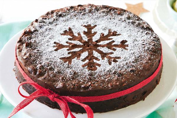 Christmas cake, postre de navidad