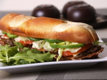 Sandwich Campestre de Lomo