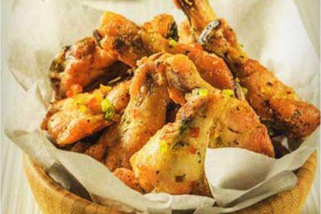 Alitas de pollo al ají limo, receta fácil