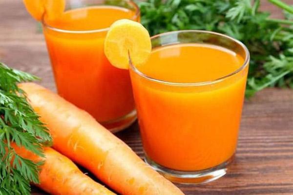 Receta del Jugo de Zanahoria