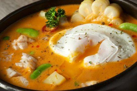 Chupe de pescado o sopa de viernes