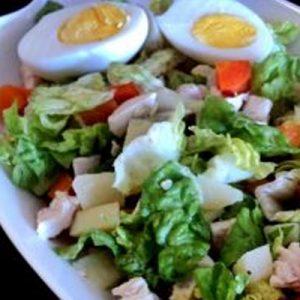 Salpicón de Pollo con verduras