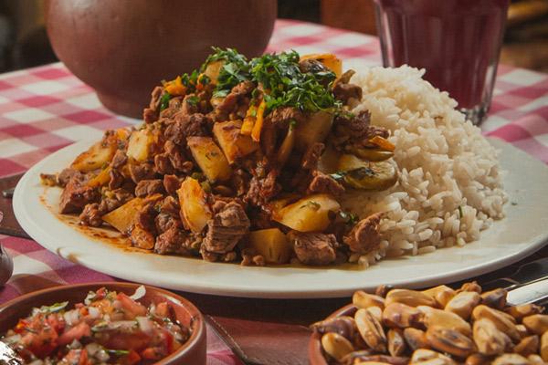 Matasquita de Carne, comida arequipeña