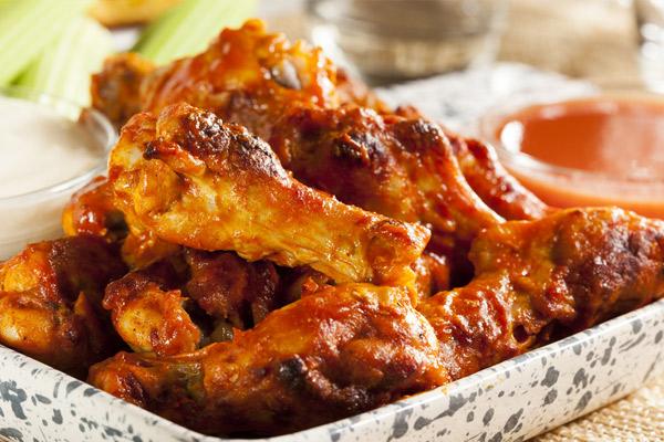 Receta de las alitas de pollo al horno con papas