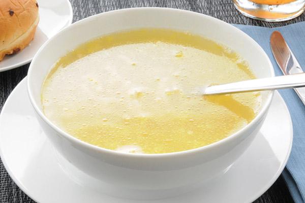 Receta de la Sopa de Sémola