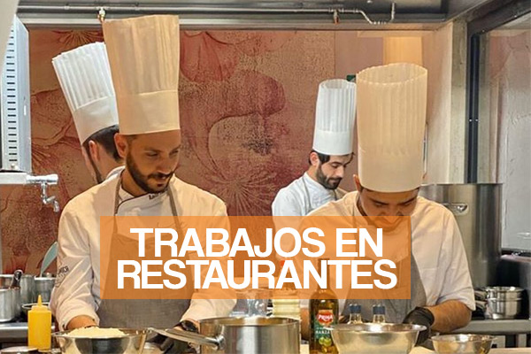 Trabajos en Cocina y Restaurantes en Perú