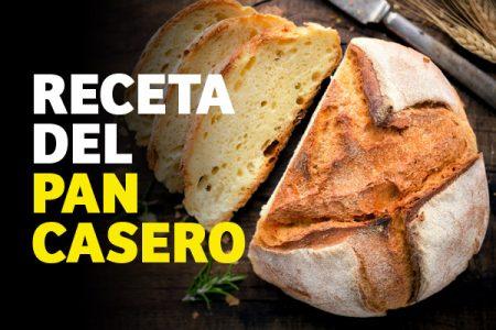 Pan casero con solo 3 ingredientes