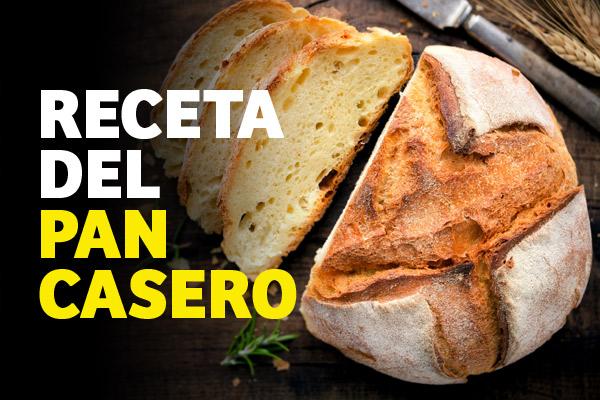 Receta del pan casero