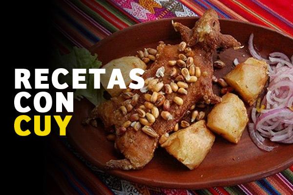 Recetas de Cocina peruana con Cuy