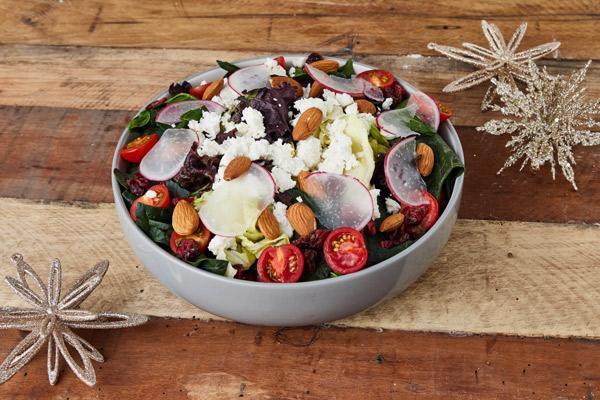 Receta de la ensalada fresca para tu cena de año nuevo