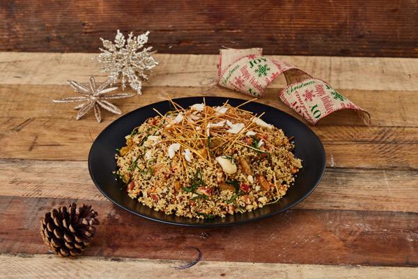 Receta de la quinua árabe para la cena de año nuevo